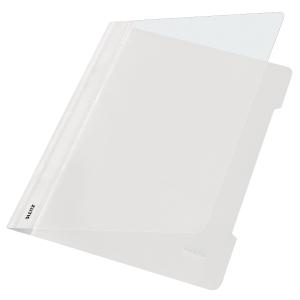 Schnellhefter Leitz 4191, A4, aus PVC-Folie, weiß