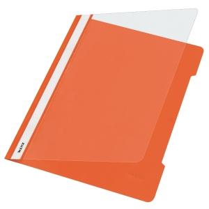 Schnellhefter Leitz 4191, A4, aus PVC-Folie, orange