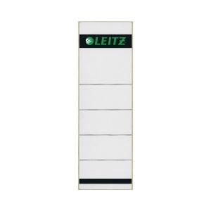 Rückenschilder Leitz 1642, kurz / breit, grau, 10 Stück