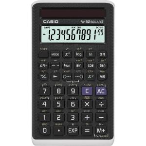 Taschenrechner Casio FX-82solar, 10 / + 2stellig, Solarbetrieb, schwarz
