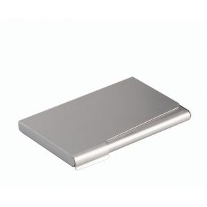 Visitenkartenspender Durable 2415, für 20 Karten, silber