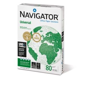 Kopierpapier Navigator Universal, A4, 80g, weiß, 500 Blatt
