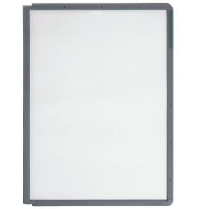 Sichttafeln Durable 5606 SHERPA, A4, grau, 5 Stück