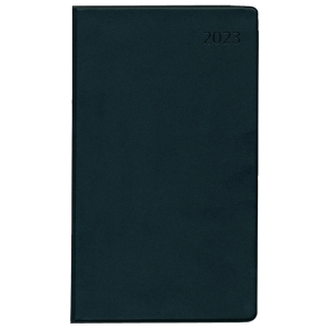 Taschenkalender 2019 Zettler 530, 1 Monat / 2 Seiten, 9,5x16cm, schwarz
