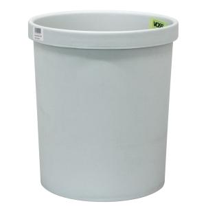 Papierkorb Voss 201S, Fassungsvermögen: 18 Liter, lichtgrau