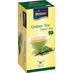 Tee Meßmer 586636 Grüner Tee, 25 Beutel a 1,75g