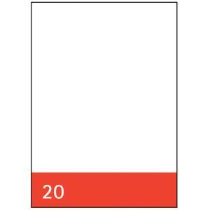 Kanzleipapier Aurora, holzfrei, A3/A4, blanko, 250 Blatt