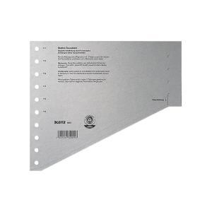 Staffeltrennblätter Leitz 1651, A4, grau, 100 Stück