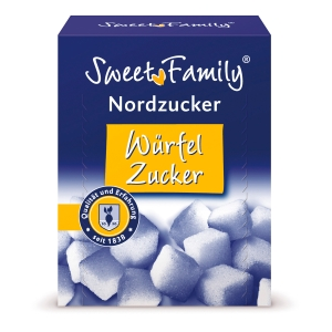 Würfelzucker Nordzucker, lose, 500g