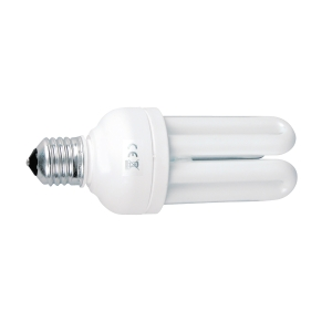 Energiesparlampe Aluminor für E27-Sockel, 23 Watt