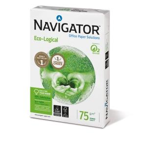 Kopierpapier Navigator Eco-Logical, A4, 75g, weiß, 500 Blatt