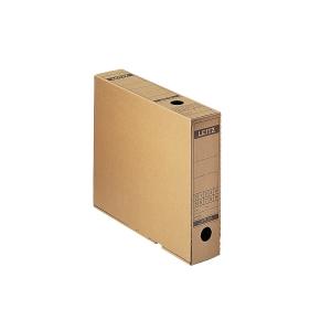 Archivschachtel Leitz 6084, A4, 32,5 x 26,5 x 7cm, naturbraun
