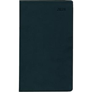 Taschenkalender 2019 Zettler 520, 1 Monat / 2 Seiten, 9,5x16cm, schwarz