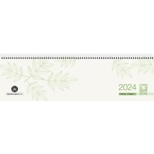 Tischquerkalender 2019 Zettler 136UWS, 1Woche/2Seiten, 36x10,5cm, Recycling