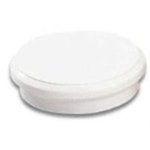 Haftmagnet Alco 6838, Durchmesser: 32mm, weiß