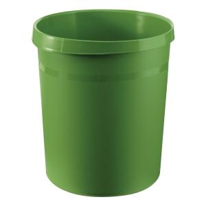 Papierkorb HAN Grip 18190, Fassungsvermögen: 18 Liter, grün