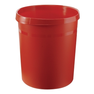 Papierkorb HAN Grip 18190, Fassungsvermögen: 18 Liter, rot