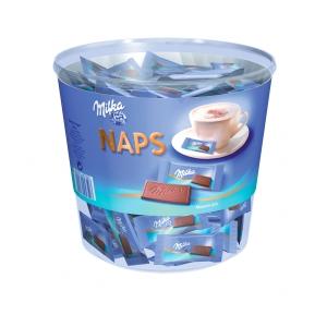 Milka Naps aus Alpenmilch, Portion a 4,6g, Dose mit 207 Stück