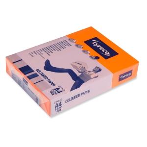 Kopierpapier Lyreco, A4, 160g, orange, 250 Blatt
