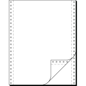 Endlospapier 2fach, 304,8 x 240mm, blanko, LP, 1000 Blatt