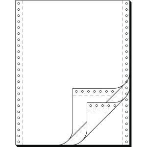 Endlospapier 3fach, 304,8 x 240mm, blanko, LP, 600 Blatt