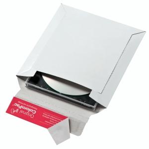 CD/DVD-Brief Colompac CP012.00 ohne Fenster Innenmaße: 160x175mm weiß