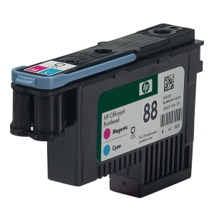 Druckkopf HP C9382A - 88, cyan + magenta