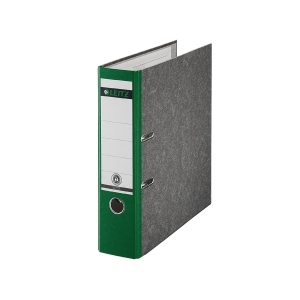 Ordner Leitz 1080, A4, Rückenbreite 80mm, grün