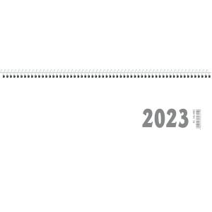 Tischquerkalender 2019 Zettler 146, 1 Woche / 1 Seite, 30 x 10cm, weiß