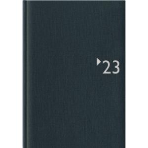 Buchkalender 2019 Zettler 869, 1 Tag / 1 Seite, A5, anthrazit