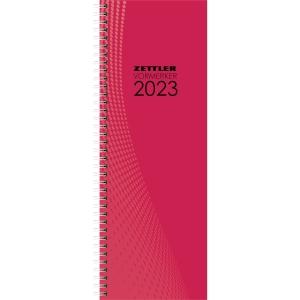 Vormerkkalender 2019 Zettler 709, 1 Woche / 2 Seiten, 105 x 295mm