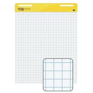 Flipchartblock Post-it Meeting Charts, 63,5 x 77,5cm, 2 Stück a 30 Blatt