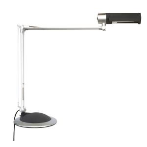 Tischleuchte Maul 82150-95 Office mit Energiesparlampe silber
