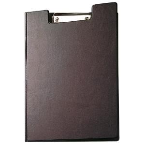 Blockmappe Maul 23392, A4, mit Bügelklemme + Tasche, schwarz