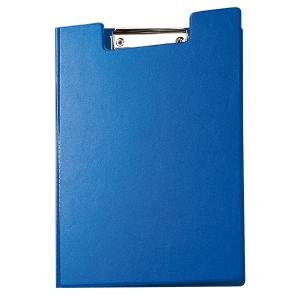 Blockmappe Maul 23392, A4, mit Bügelklemme + Tasche, blau