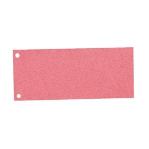 Trennstreifen 24 x 10,5cm, rot, 100 Stück