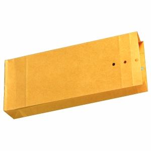 Musterbeutel 120 x 285 x 50mm, Stehboden + Seitenfalten, 120g, braun, 250 Stück