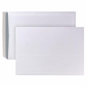 Versandtaschen B4, ohne Fenster, Haftklebung, 120g, weiß, 250 Stück