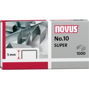 Heftklammern Novus Nr.10 verzinkt 1000 Stück