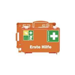 Erste-Hilfe-Koffer Söhngen 0301125 Quick CD mit Füllung nach DIN 13157 orange