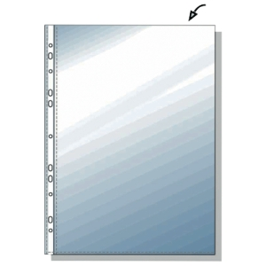 Prospekthüllen Lyreco Budget, A4, PP, Stärke: 0,05mm, oben offen, 100 Stück