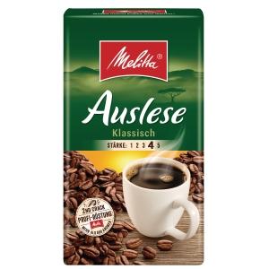 Kaffee Melitta Auslese, gemahlen, 500g