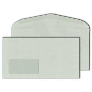 Kuvertierumschläge Blessof 30013698 125x235mm mit Fenster NK RC 1000St