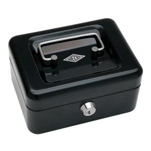 Geldkassette Wedo 145121, Maße: 152 x 115 x 80mm, schwarz