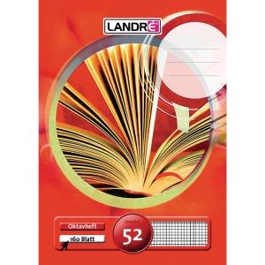 Oktavheft Landre 390603252, A6, kariert, 32 Blatt