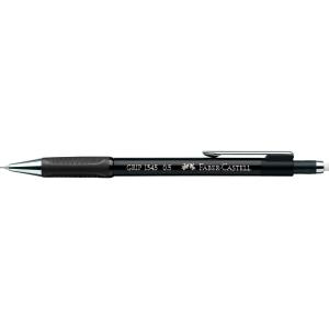 Druckbleistift AWF Grip 1345, Strichstärke: 0,5mm, Härtegrad: B, schwarz