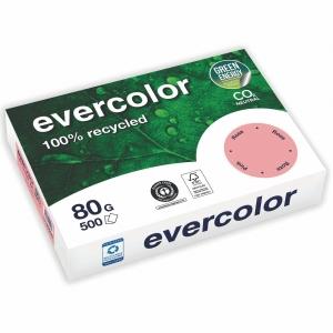 Kopierpapier Evercolor 400, A4, 80g, rosa, 500 Blatt