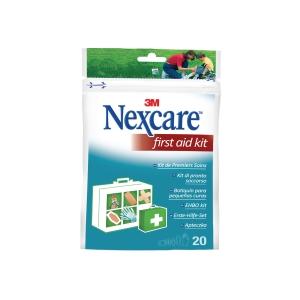 Erste-Hilfe-Set Nexcare NKF005, 20 Produkte für Wundversorgung