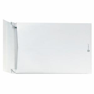 Faltentaschen Bong 14725 B4 250x353mm 38mm-Falte ohne Fenster HK weiß 50St