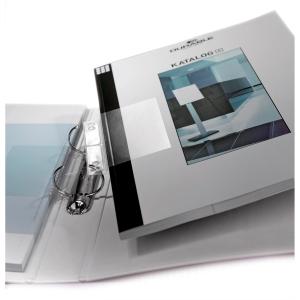 Heftstreifen Durable 8070 Filefix, transparent, 50 Stück